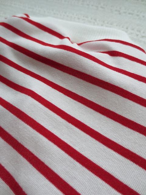 画像3: 【クール素材 ミラキュラスクール】 赤×白ボーダー