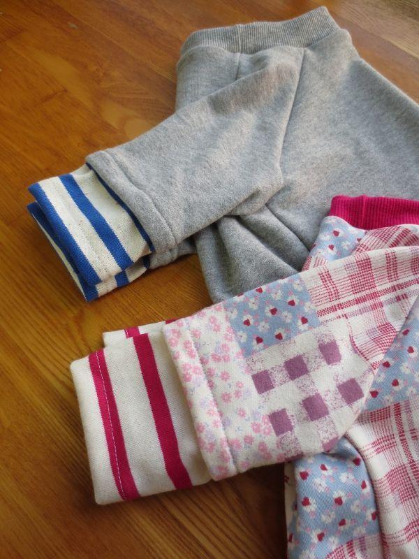 画像3: 重ね着風袖