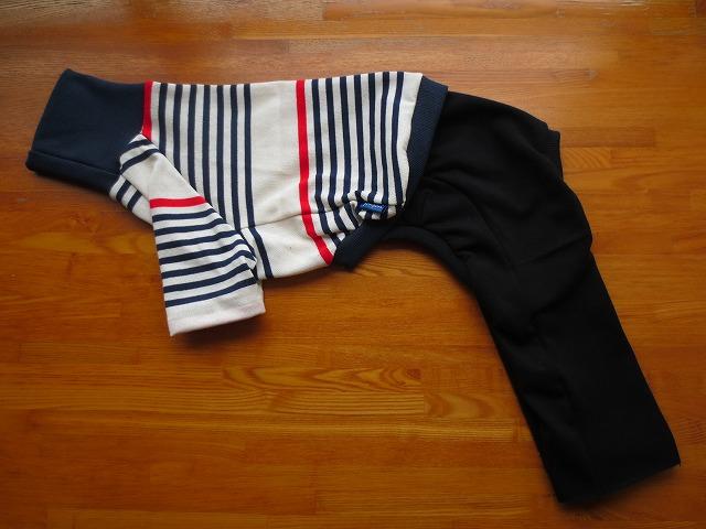 画像1: ハイネックTシャツ+長ズボン (イタグレサイズ)