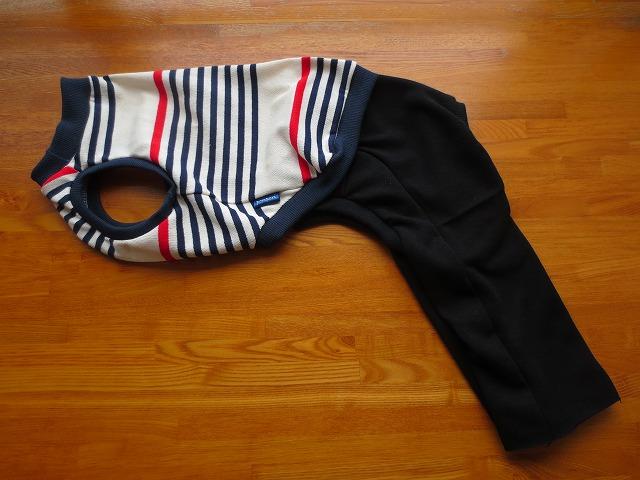 画像1: 袖なしシャツ+長ズボン (イタグレサイズ)