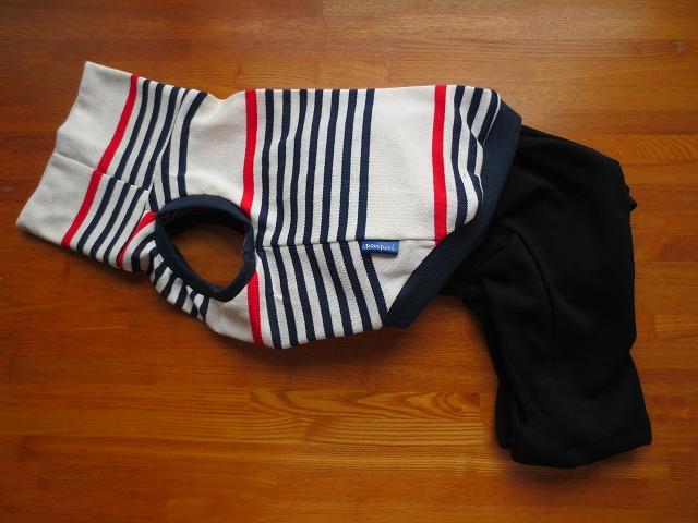 画像1: ハイネック袖なしシャツ+半ズボン (イタグレサイズ)