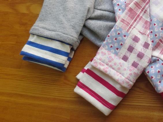 画像1: 重ね着風袖