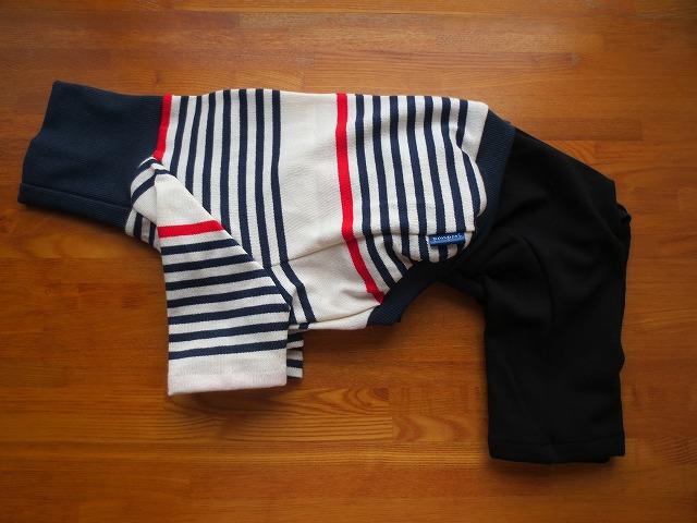 画像1: ハイネックTシャツ+半ズボン (イタグレサイズ)