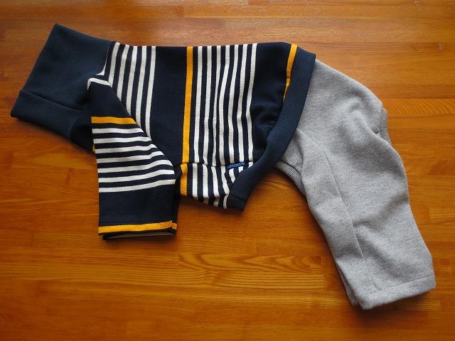 画像1: ハイネックTシャツ+半ズボン