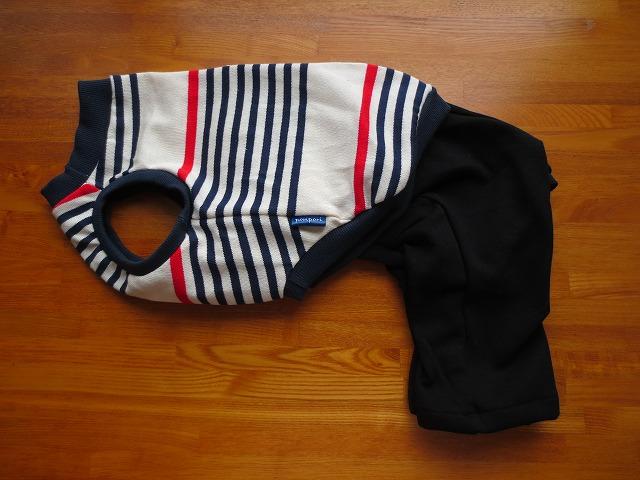 画像1: 袖なしシャツ+半ズボン (イタグレサイズ)