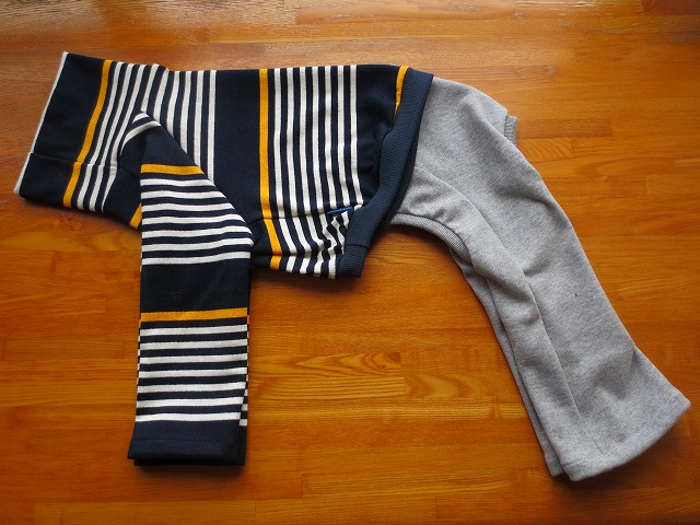 画像1: ハイネック&長袖シャツ+長ズボン