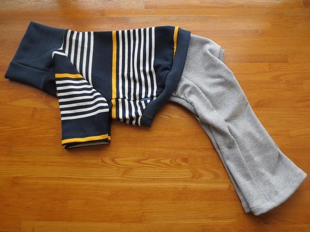 画像1: ハイネックTシャツ+長ズボン