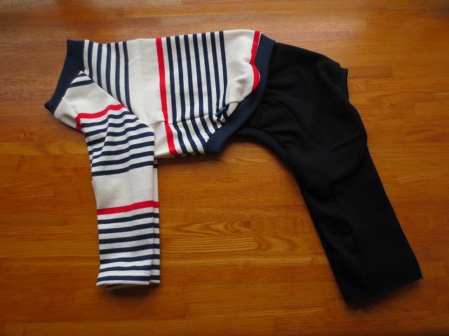 画像1: 長袖シャツ+長ズボン (イタグレサイズ)