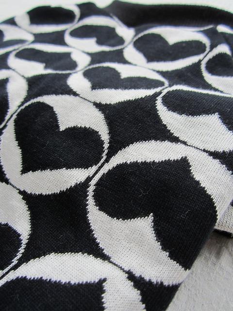 画像3: ハートハート(黒×白)
