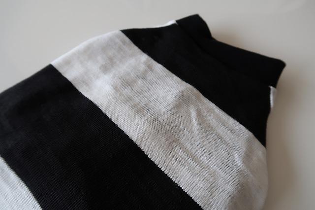 画像3: 太ボーダー 黒×白