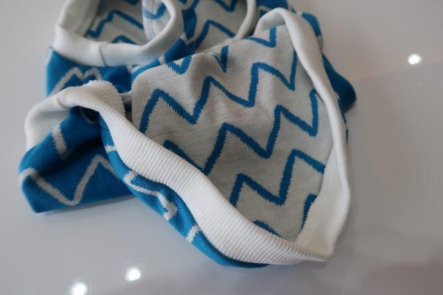 画像4: ギザギザクレヨン(ターコイズブルー×白)