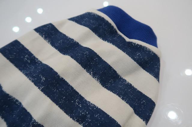 画像3: 手書き風ボーダー(ブルー)